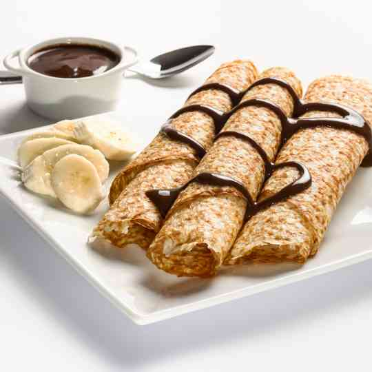 KeeDiet High Protein, Low Carb Banana & Chocolate Chip Crepes Diet Food