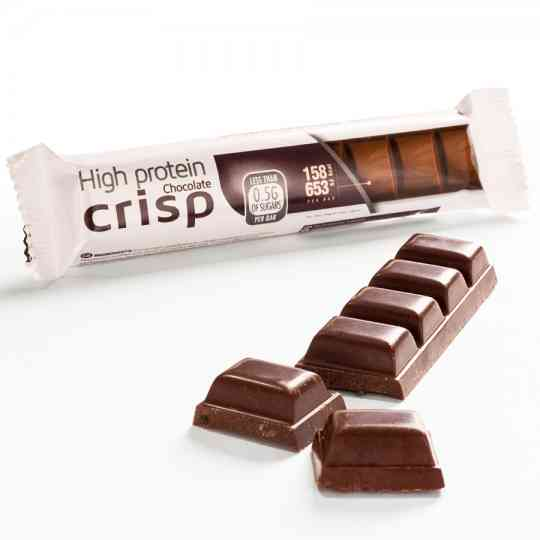 KeeDiet High Protein, Low Carb Crispy Chocolate Bar Diet Food