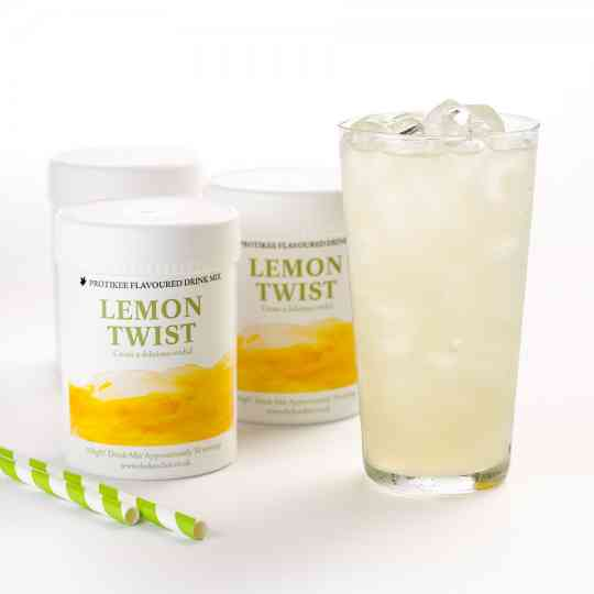 KeeDiet Lemon Twist Ketogenic Water Flavouring Tub Diet Food