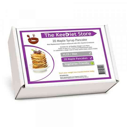 20 BOX OFFER - 20 Diet Breakfast & Dessert- Maple Syrup Pancake