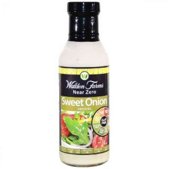 Walden Farms Sweet Onion Salad Dressing Diet Food