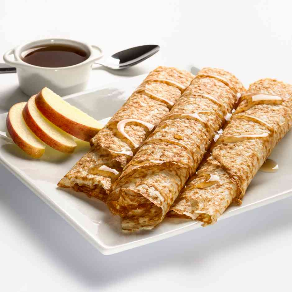 Keediet High Protein, Low Carb Apple Crepes Diet Food