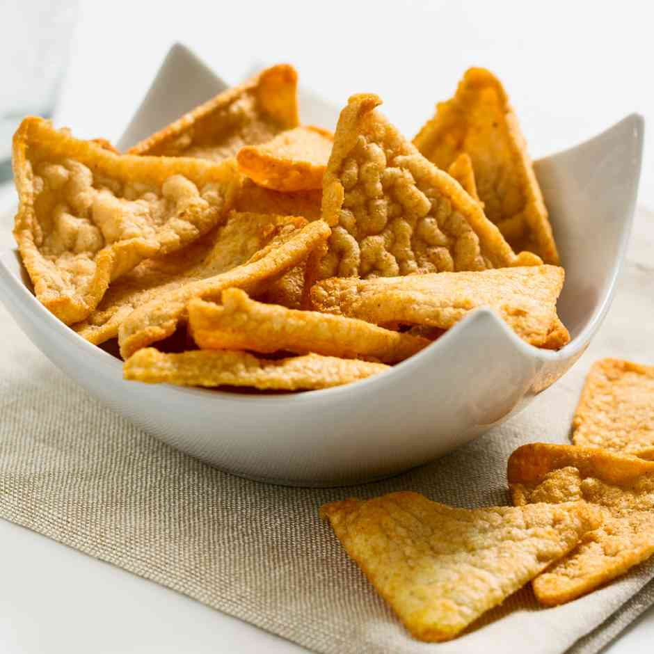 Keediet High Protein, Low Carb Bacon Tortilla Crisps Diet Food