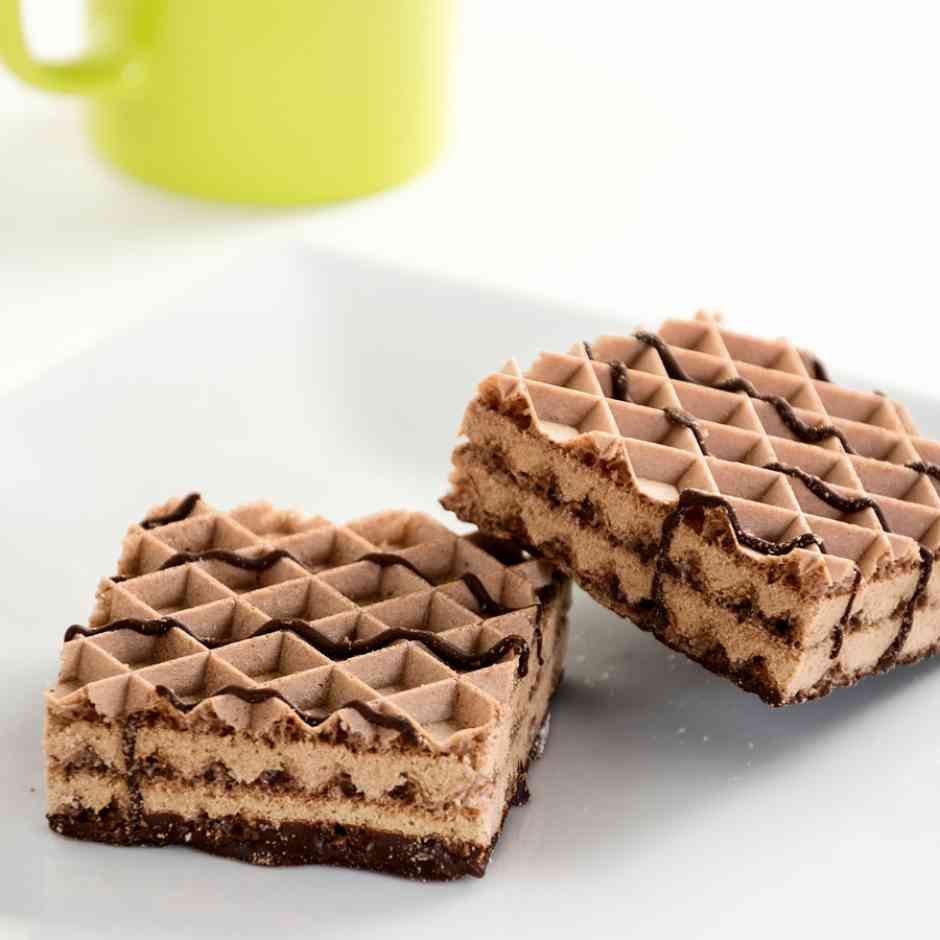 KeeDiet High Protein, Low Carb Chocolate Cream Snack Wafers Diet Food