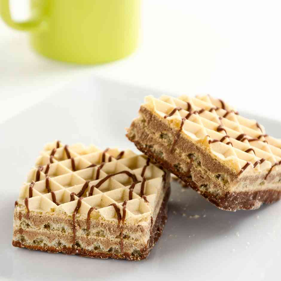 KeeDiet High Protein, Low Carb Mocha Cream Snack Wafers Diet Food