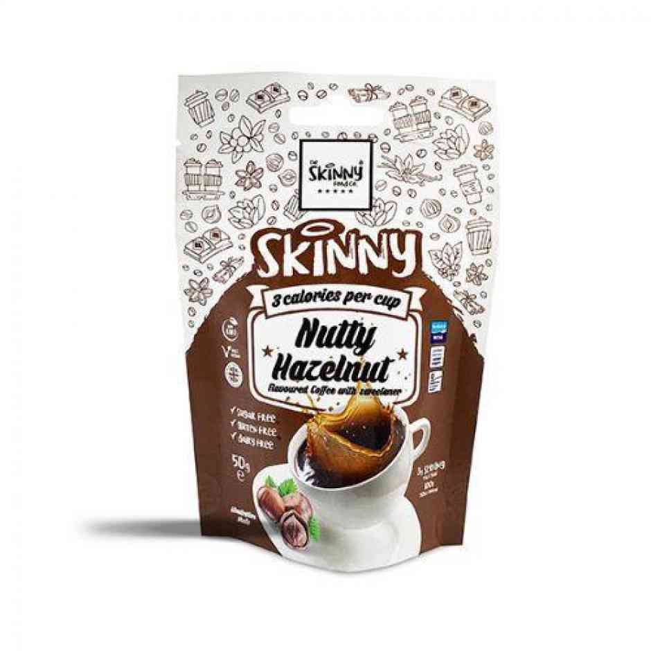 KeeDiet Skinny Food Instant Coffee - Nutty Hazelnut